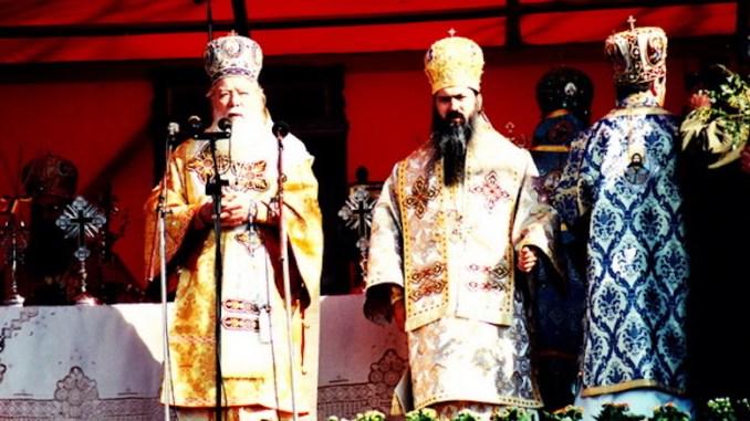 IPS Teodosie și Patriarhul Teoctist