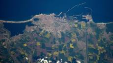 Constanța de pe Stația Internațională Spațială. FOTO Tim Peake
