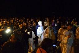 Procesiunea religioasă cu IPS Teodosie, Arhiepiscopul Tomisului. FOTO Adrian Boioglu