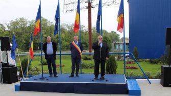 Inaugurare statie de pompare la Cernavoda. FOTO Adrian Boioglu