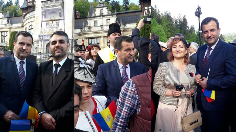 Valentin Vrabie și Marius Liviu Petre la Ziua Monarhiei