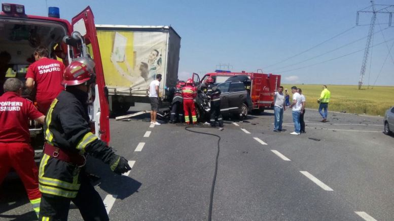 Accident cu descarcerare