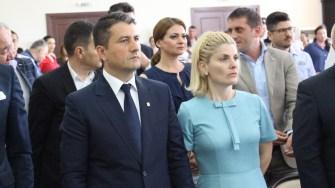 Decebal Făgădău și soția sa. FOTO Adrian Boioglu