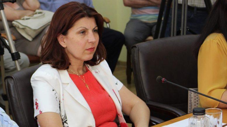 Luminița Vlădescu, viceprimarul municipiului Medgidia. FOTO Adrian Boioglu