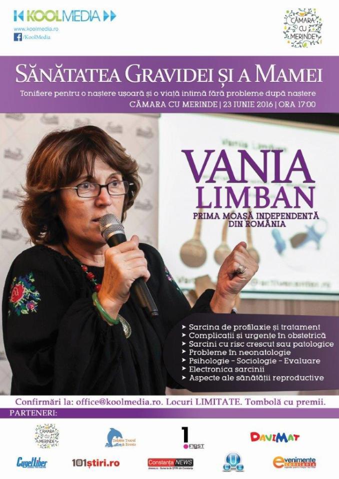 Afiș eveniment Vania Limban