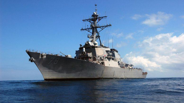 Distrugătorul american USS Porter. FOTO wikipedia