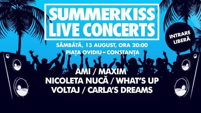 SummerKiss Live Concerts la Constanța