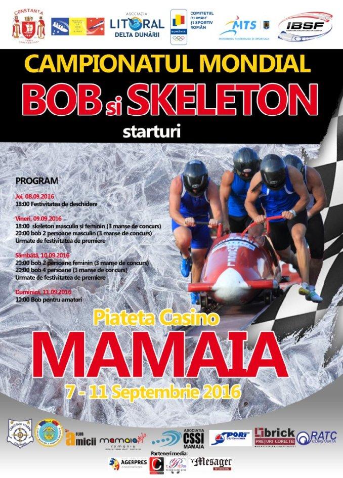 Afiș Bob și Skeleton