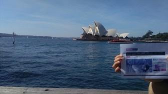 Constanța NEWS în Sydney, Australia. FOTO Adi O.