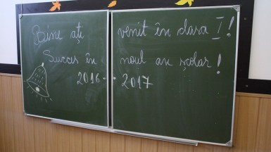 A început școala. FOTO Adrian Boioglu