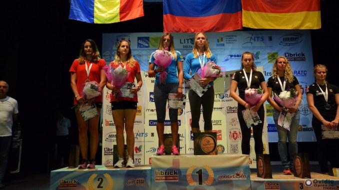 Echipa de bob a României, pe podium