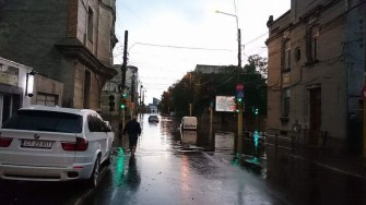 Ploi abundente în Constanța