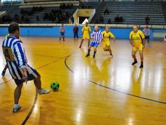 """Fotbal cu echipele de seniori la """"Zilele Pensionarului"""" în Medgidia"""