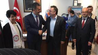 Florin Chelaru și Nicolae Matei în Turcia. FOTO Facebook