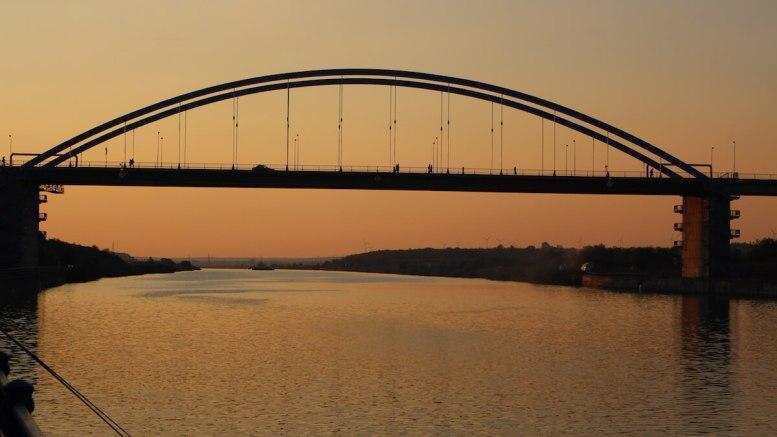 Podul de la Medgidia. FOTO Adrian Boioglu