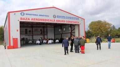 Noul heliport SMURD Constanța. FOTO Adrian Boioglu