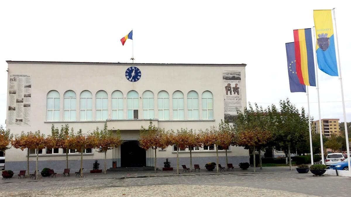 Primăria Cernavodă. FOTO Adrian Boioglu