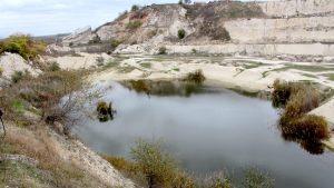 Lacul de cretă de la Murfatlar. FOTO Adrian Boioglu