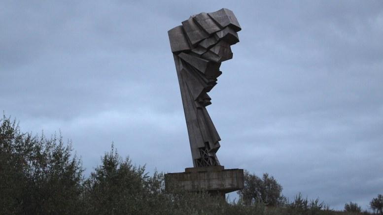 Monumentul de la Straja. FOTO Adrian Boioglu