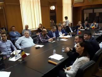 Întâlnire conducerea APMC - operatori portuari. FOTO APMC