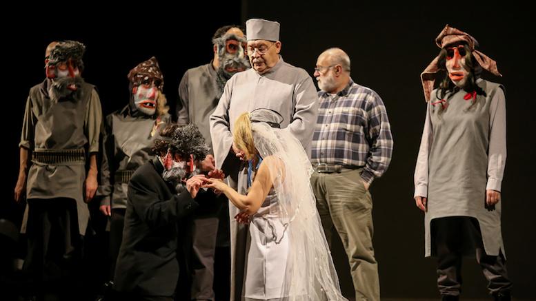 "Piesa ""Șobolanul Rege"" la Teatrul de Stat Constanța. FOTO Marian Adochiței"