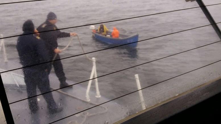 Pescari salvați de Garda de Coastă