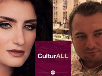 Adelina Tocitu și Daniel Citirigă în podcastul CulturALL din rețeua CityPodcast