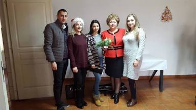 Cadouri pentru vârstnici de la Gabriela Iacobici și Mariana Gâju