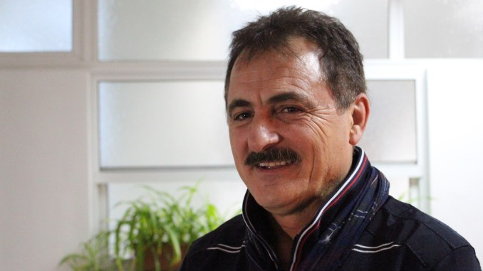 Adrian Mihălcioiu, liderul Sindicatului Liber al Navigatorilor. FOTO Adrian Boioglu