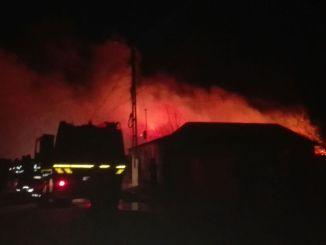 Incendiu la Năvodari