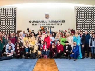 personajele copilariei in vizita la Primaria Constanța