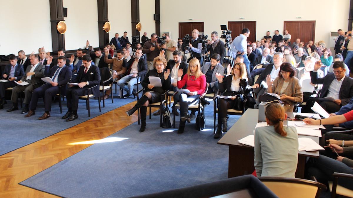 Consilierii locali din Constanța. FOTO Adrian Boioglu