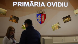 Primăria Ovidiu. FOTO Adrian Boioglu