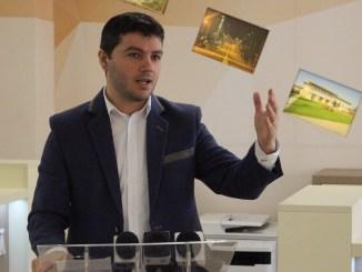 George Scupra, Primarul orașului Ovidiu. FOTO Adrian Boioglu