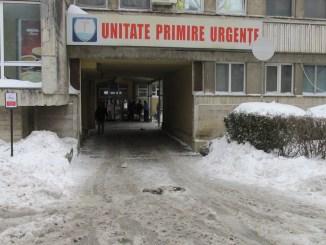 Urgența Spitalului Județean Constanța după deszăpezire