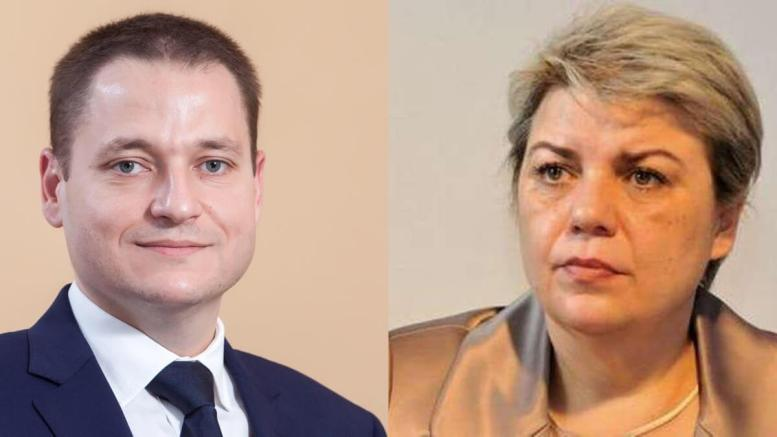 Mircea Dobre și Sevil Shhaideh. Colaj FOTO ctnews.ro