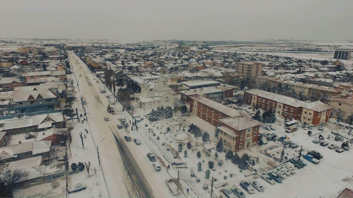 Orașul Ovidiu. FOTO Primăria Ovidiu
