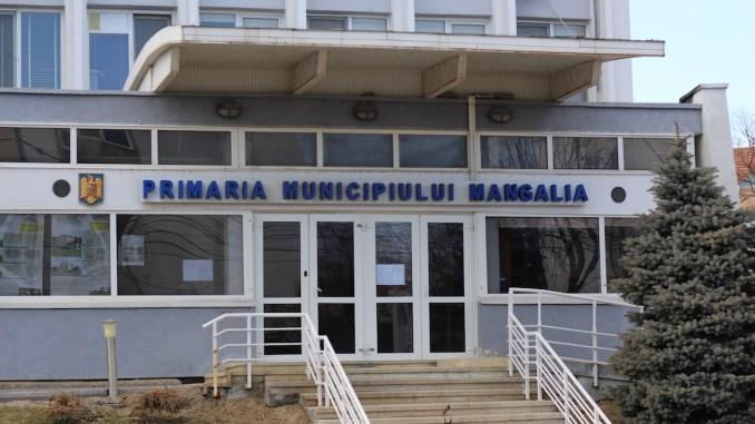 Primăria Mangalia. FOTO Adrian Boioglu