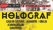 Constanța NEWS te invită la Concertul Holograf