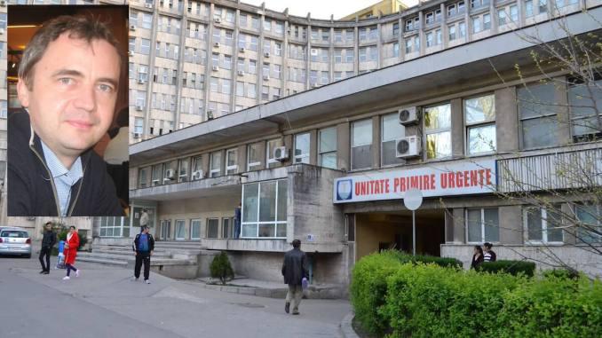 dr. Bogdan Obadă, director medical interimar la Spitalul de Urgență Constanța