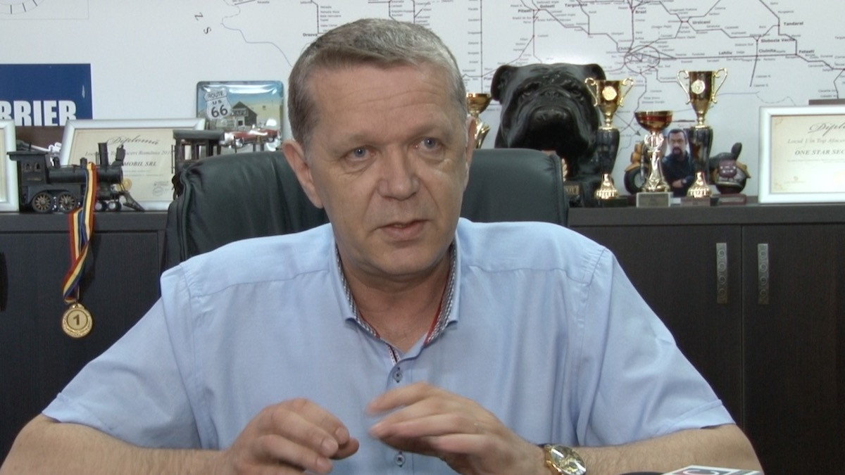 Ilie Cobzariu, Director general ONE STAR SECURITY. FOTO Constanța NEWS