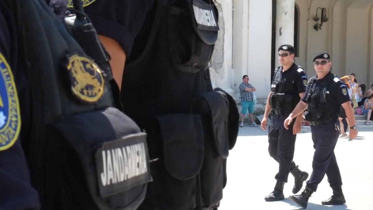 Jandarmi de 1 mai FOTO Jandarmeria Romana