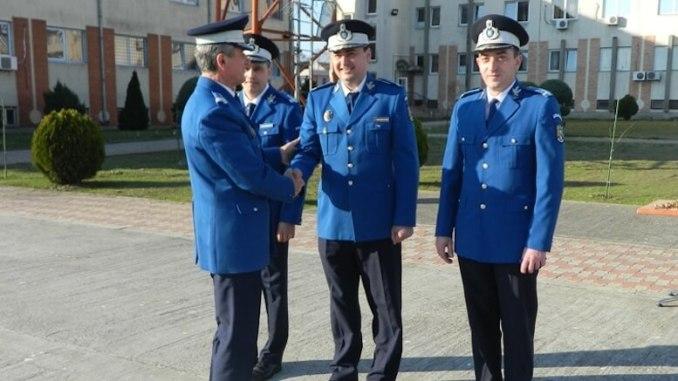 Avansare în grad la Jandarmeria Constanța