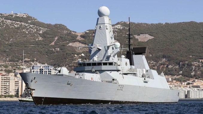 HMS DARING. FOTO Ray Jones/MOD