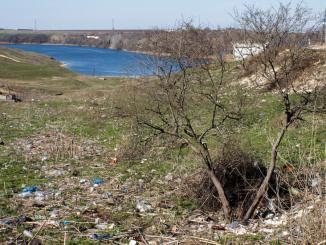 Gunoaie la Limanu. FOTO Primăria Limanu