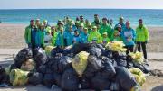 Curățenie după minivacanța de 1 mai. FOTO: Primăria Comunei Limanu