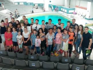 Copiii defavorizați și TSD-iștii constănțeni la Delfinariu de 1 iunie