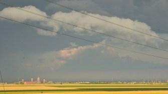 Nori de furtuna Cod Portocaliu. FOTO Catalin Schipor
