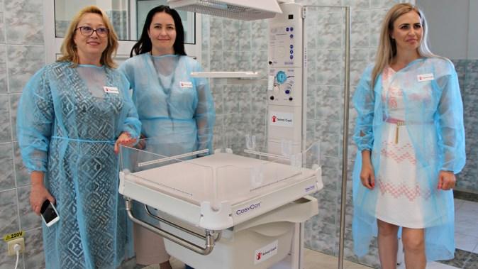 Salvati Copiii_Dotare Neonatologie spital Mangalia