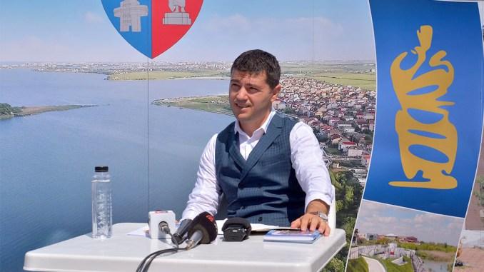 George Scupra, Primarul Oraşului Ovidiu. FOTO Catalin Schipor